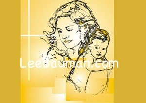 Maddona and Child - Lee Bauman