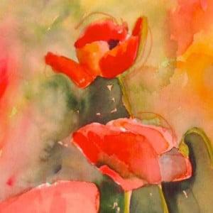 Poppies - Lee Bauman