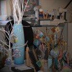 Working, planning studio mess or magic?