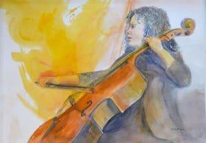 Golden Cello