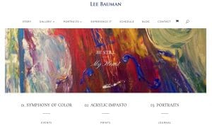 New Website Front Page