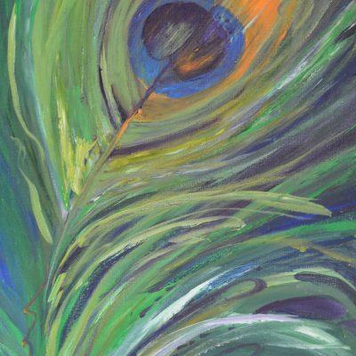Peacock Flame
