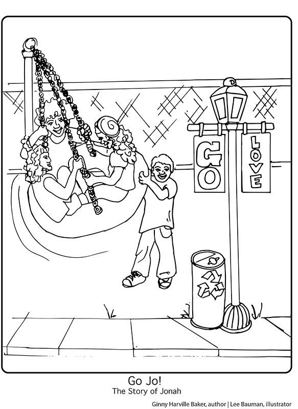 Coloring Book-Swing Page