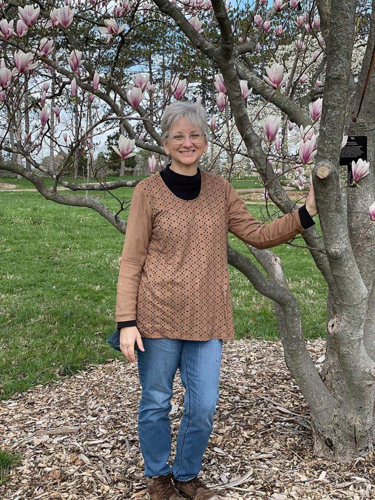 Lee at Arboretum